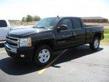 2010 Black Chevrolet Silverado 1500 LT Extended Cab 4x4 #35427686