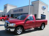 2006 Inferno Red Crystal Pearl Dodge Ram 1500 SLT TRX Regular Cab 4x4 #35427477