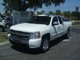 2011 Summit White Chevrolet Silverado 1500 LT Extended Cab #35427297