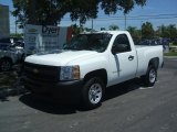 2011 Summit White Chevrolet Silverado 1500 Regular Cab #35427298