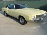 1971 Chevrolet Monte Carlo Standard Model Data, Info and Specs