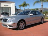 2004 Brilliant Silver Metallic Mercedes-Benz S 55 AMG Sedan #3516895