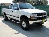 2000 Summit White Chevrolet Silverado 1500 LS Extended Cab 4x4 #35427506