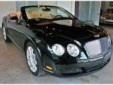 2007 Bentley Continental GTC Diamond Black