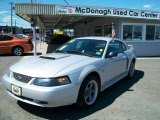 2002 Satin Silver Metallic Ford Mustang GT Coupe #35428089