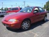1998 Cayenne Red Metallic Chevrolet Cavalier LS Sedan #35483600