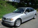 2003 Titanium Silver Metallic BMW 3 Series 325xi Sedan #35483522
