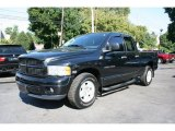2004 Black Dodge Ram 1500 SLT Quad Cab #35483527
