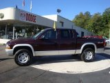 2004 Deep Molten Red Pearl Dodge Dakota SLT Quad Cab 4x4 #35483549