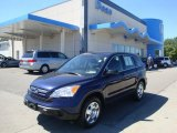 2007 Royal Blue Pearl Honda CR-V LX 4WD #35483828