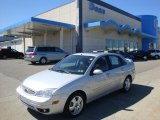 2005 CD Silver Metallic Ford Focus ZX4 ST Sedan #35483832