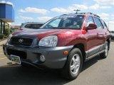 2004 Merlot Red Hyundai Santa Fe GLS #35483844