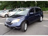 2008 Royal Blue Pearl Honda CR-V LX #35483324