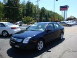 2008 Dark Blue Ink Metallic Ford Fusion SE #35513029