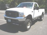 2004 Oxford White Ford F250 Super Duty XL Regular Cab 4x4 #35512911