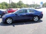2010 Vortex Blue Pearl Acura TSX Sedan #35513300