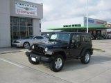 2010 Black Jeep Wrangler Rubicon 4x4 #35533782