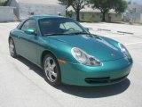 1999 Porsche 911 Ocean Jade Metallic