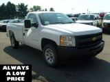 2011 Summit White Chevrolet Silverado 1500 Regular Cab #35551087