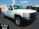 2011 Summit White Chevrolet Silverado 1500 Regular Cab 4x4 #35551090