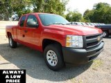 2011 Victory Red Chevrolet Silverado 1500 Extended Cab 4x4 #35551093