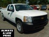 2011 Summit White Chevrolet Silverado 1500 Extended Cab 4x4 #35551094