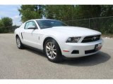 2011 Performance White Ford Mustang V6 Premium Coupe #35551966