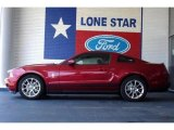 2011 Red Candy Metallic Ford Mustang V6 Premium Coupe #35551969