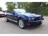 2011 Kona Blue Metallic Ford Mustang V6 Premium Convertible #35551990