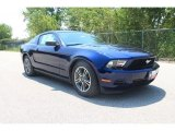 2011 Kona Blue Metallic Ford Mustang V6 Premium Coupe #35551993