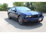 2011 Kona Blue Metallic Ford Mustang V6 Premium Coupe #35552001