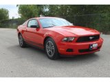 2011 Race Red Ford Mustang V6 Premium Coupe #35552002