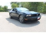 2011 Ebony Black Ford Mustang V6 Premium Coupe #35552003