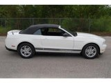 2011 Performance White Ford Mustang V6 Convertible #35552006