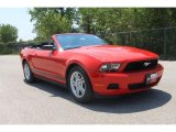 2011 Race Red Ford Mustang V6 Convertible #35552007
