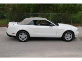 2011 Performance White Ford Mustang V6 Convertible #35552008