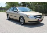 2005 Light Driftwood Metallic Chevrolet Malibu Sedan #35552023