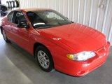 2000 Torch Red Chevrolet Monte Carlo LS #35552551