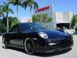 2008 Black Porsche 911 Turbo Cabriolet #351972