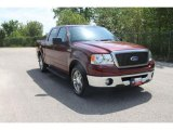 2006 Dark Toreador Red Metallic Ford F150 XLT SuperCrew #35552055