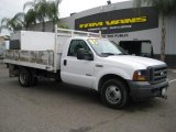 2005 Oxford White Ford F350 Super Duty XL Regular Cab Chassis #35551707