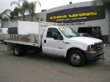 2005 Oxford White Ford F350 Super Duty XL Regular Cab Chassis Stake Truck #35551708