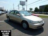 2002 Naples Gold Metallic Honda Accord LX Sedan #35551260