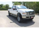 2010 Oxford White Ford F350 Super Duty King Ranch Crew Cab 4x4 #35552081
