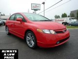 2007 Rallye Red Honda Civic Si Sedan #35551267