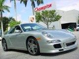 2008 Arctic Silver Metallic Porsche 911 Carrera 4S Coupe #351958
