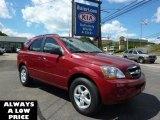 2009 Spicy Red Kia Sorento LX 4x4 #35551321