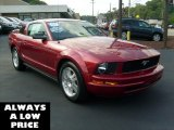 2007 Redfire Metallic Ford Mustang V6 Premium Coupe #35551330