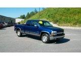 2000 Indigo Blue Metallic Chevrolet Silverado 1500 Z71 Extended Cab 4x4 #35552787