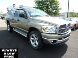 2008 Light Khaki Metallic Dodge Ram 1500 Big Horn Edition Quad Cab 4x4 #35551404